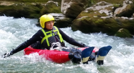 Tour mit Guide Riverbug Flachau