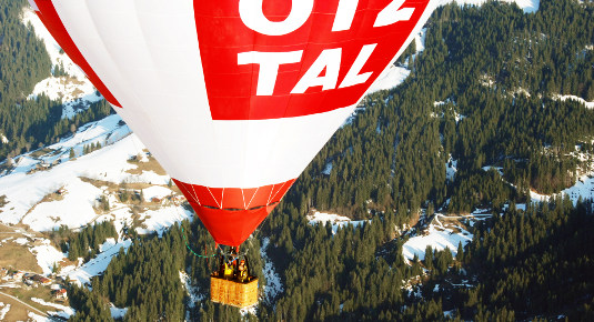 Ballon fahren in Mieming