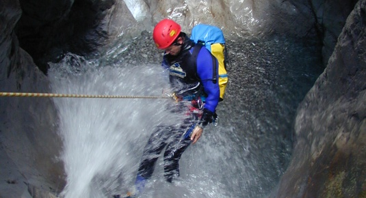 Familien Canyoning