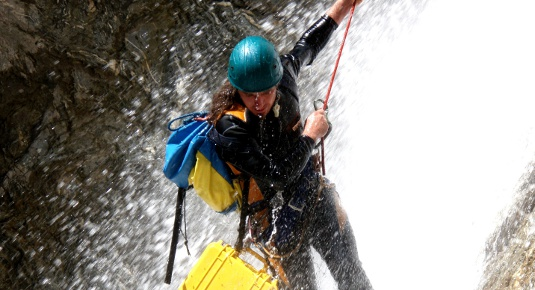 Familien Canyoning in Tirol