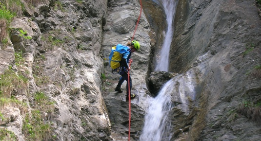 Canyoning mit Familie