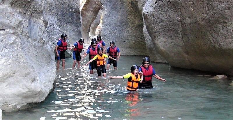 Klettergurt Canyoning : Canyoning trentino erlebnisse 24