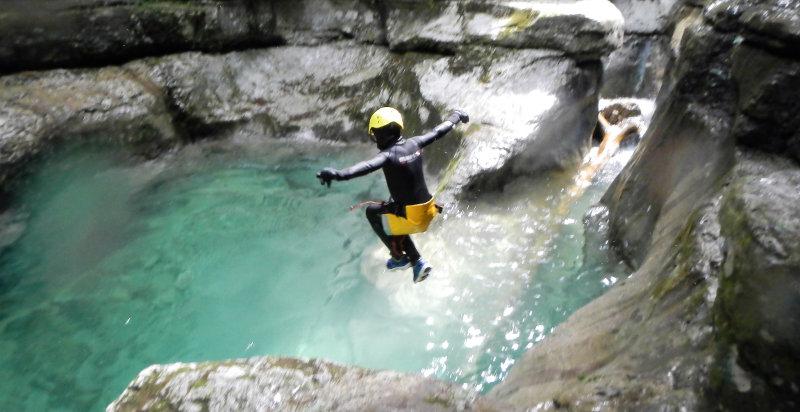 Klettergurt Canyoning : Canyoning bivio la secca erlebnisse 24