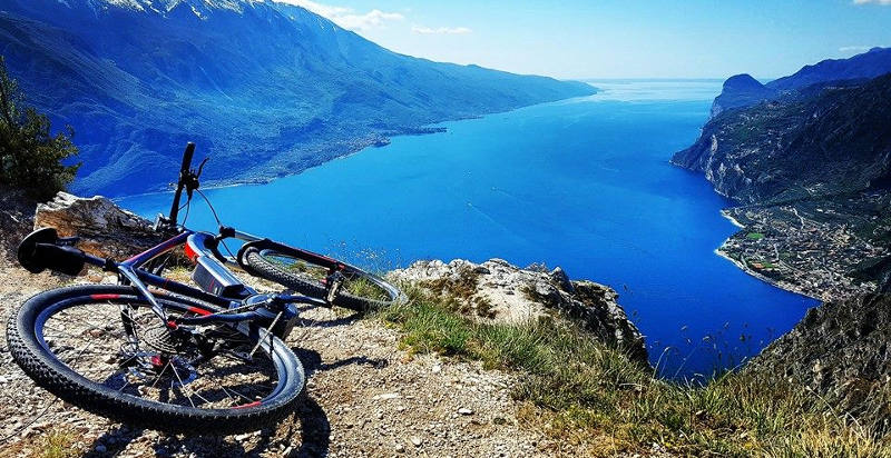 e-bike am gardasee