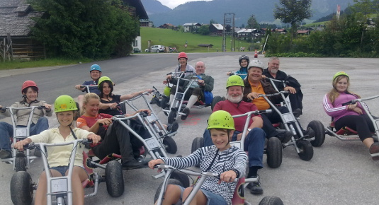 Mountaincart Tour mit Guide