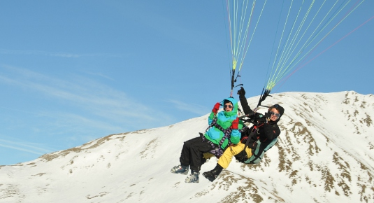 Paragleiten in Nauders
