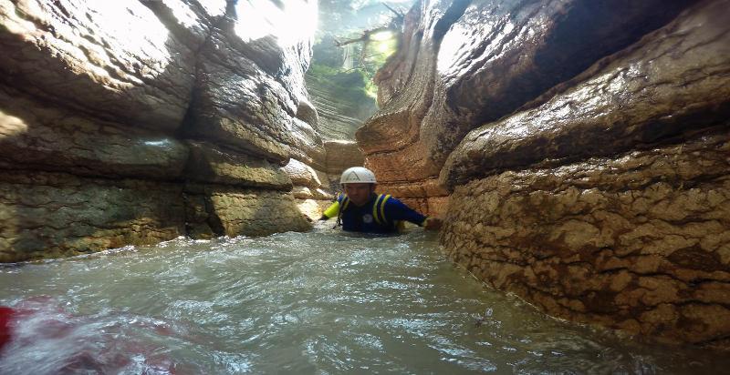 Klettergurt Canyoning : Canyoning rio neva in val noana erlebnisse 24