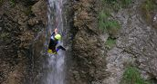 Canyoning in Serfaus