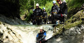 canyoning einsteiger attersee