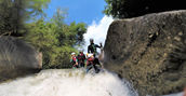 jungle canyoning