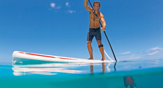 stand up paddle abenteuerwochenende pressegger see sup